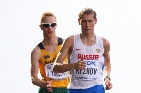 Россиянин Рыжов завоевал серебро чемпионата мира в ходьбе на 50 км