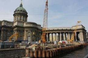 В Петербурге часть канала Грибоедова закроют для автомобилей