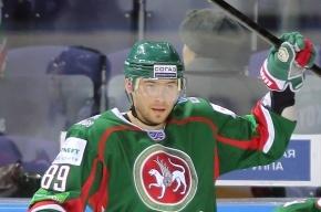 Хоккеист «Ак Барса» задержан за избиение полицейских в Татарстане