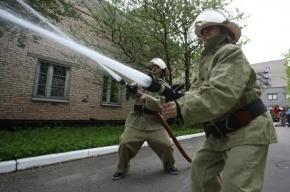 В пожаре на севере Петербурга пострадали два человека