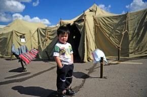 Во временном городке в Москве поселили более 130 нелегальных мигрантов