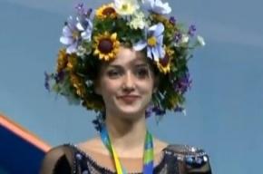 Украинскую гимнастку на чемпионате мира наградили под гимн России