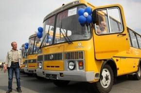 Школы Ленинградской области получили 39 новых автобусов