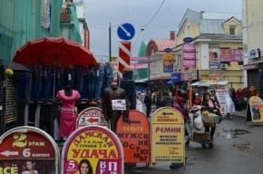 30 нелегальных мигрантов задержали в ходе рейда на Апраксином дворе