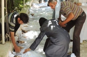 Власти Сирии обнаружили химическое оружие у террористов