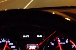 Кадырова заподозрили в езде со скоростью 241 км/час