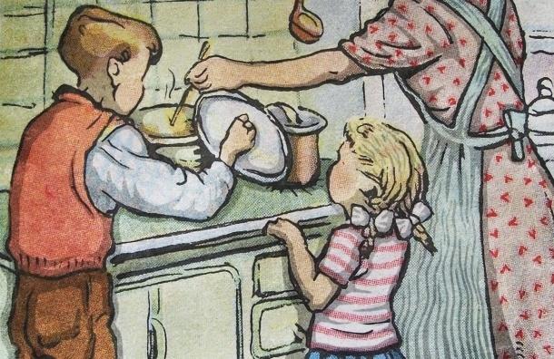 Советы родителям: как приучить ребенка к работе по дому
