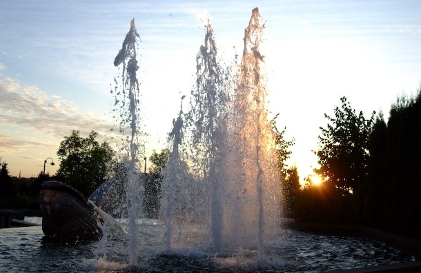 Огромный фонтан откроют в Петербурге