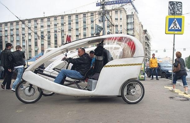 Человек педальный. ВМоскве появились велотакси, ноостается вопрос, транспорт это илиразвлечение