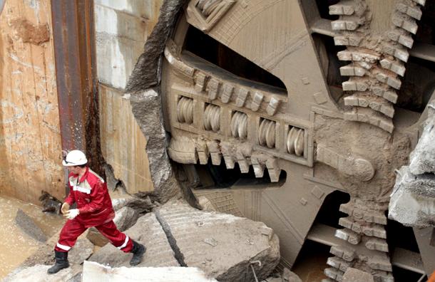Началось строительство тоннеля в сторону первой станции метро Новой Москвы