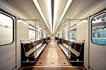 В метро Петербурга появились вагоны с откидными сидениями: Фоторепортаж