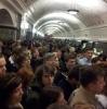 Сбой в метро Москвы 19 сентября: Фоторепортаж