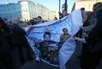 Фоторепортаж: «Акция арт-группы «Война», картина на Невском»