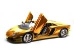Золотой Lamborghini Aventador LP 700-4 : Фоторепортаж