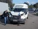 Фоторепортаж: «Пять человек пострадали в аварии маршрутного такси на Таллиннском шоссе»