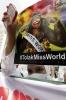 """Акции против проведения конкурса """"Мисс мира"""" продолжаются в Индонезии : Фоторепортаж"""