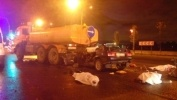 Фоторепортаж: «ДТП на Малоохтинском проспекте 29 сентября»