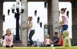 Парк Горького, Москва: Фоторепортаж