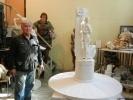 Фоторепортаж: «Памятник Олге Берггольц, проект»