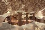 Архитекторы предлагают послать на Марс роботов для строительства пещер: Фоторепортаж