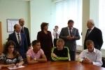 Полтавченко, школы, 2 сентября 2013: Фоторепортаж