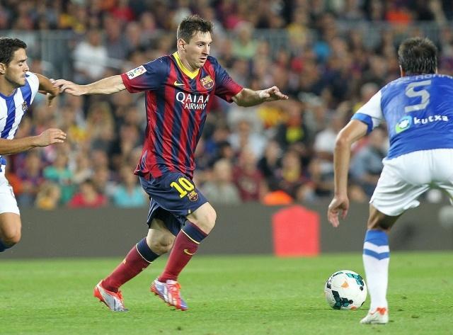 Барселона - Реал Сосьедад, 24 09 2013: Фото