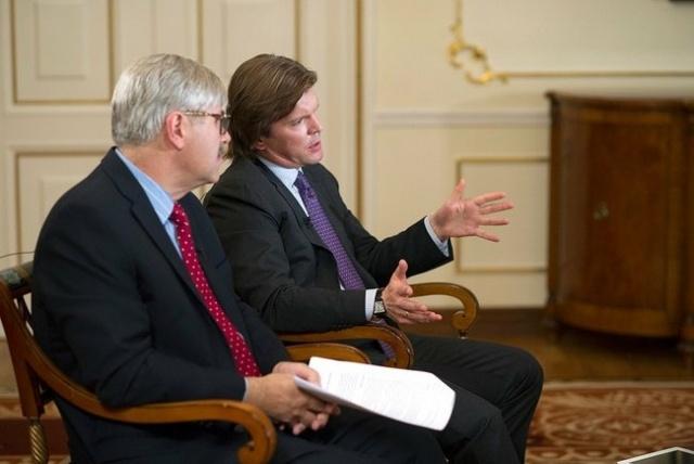 Путин интервью, 4 сентября 2013: Фото