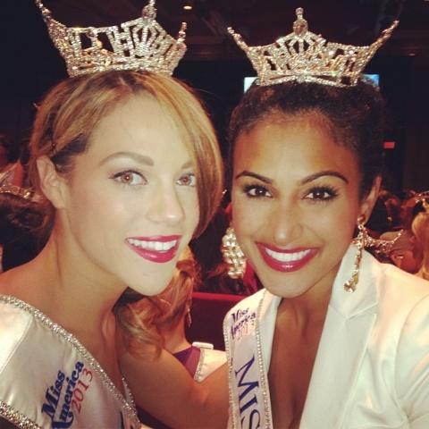 Победительница конкурса «Мисс Америка» Нина Давулури: Фото