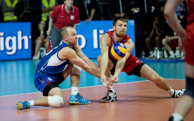Россия - Италия в финале чемпионата Европы 2013 года по волейболу: Фото