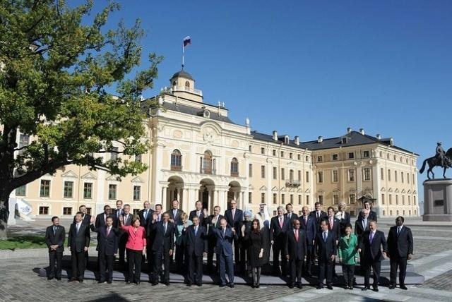 Политики на саммите большой двадцатки, Путин, Обама и другие: Фото