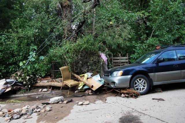Наводнение в Колорадо: Фото