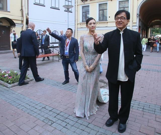 Джеки Чан в Петербурге: Фото