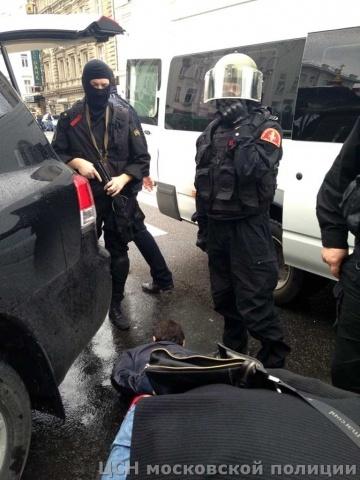 Задержание Ражидина Михралиева по кличке Раджик 16 сентября: Фото