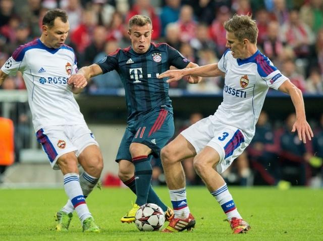 Бавария - ЦСКА 17 сентября 2013 года в Лиге чемпионов: Фото