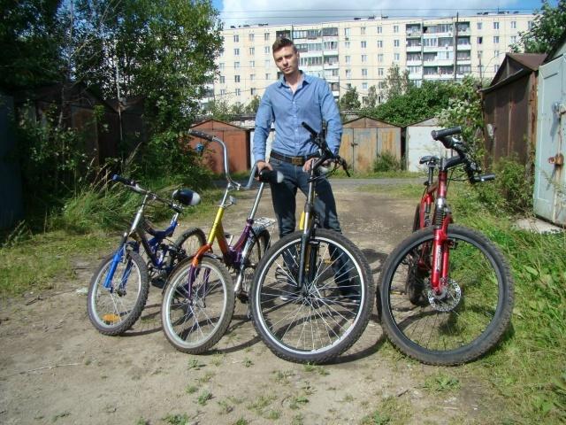 Велопрогулки в Купчино: Фото
