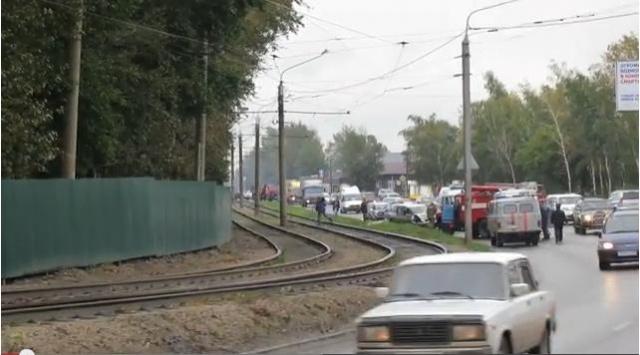 Авария на Змеиногорском тракте 16 сентября 2013: Фото