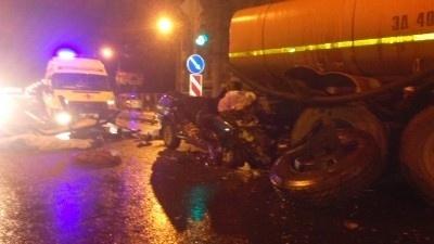 ДТП на Малоохтинском проспекте 29 сентября: Фото