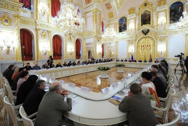 Путин, Совет по правам человека, 4 сентября 2013: Фото