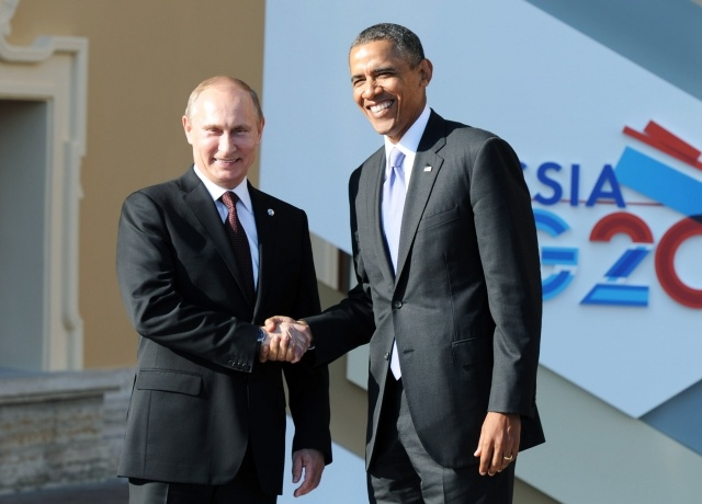 Путин на саммите G20: Фото