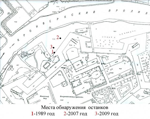 Раскопки в Петропавловской крепости: Фото