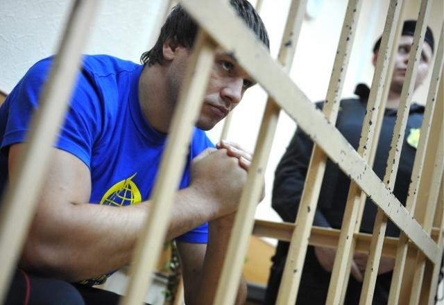 Обвиняемые в избиении водителя битами на Ленинградском проспекте: Фото