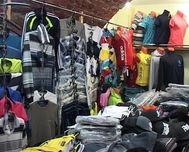 На Апрашке изъяли партию контрафактного Adidas на 1,35 миллиона