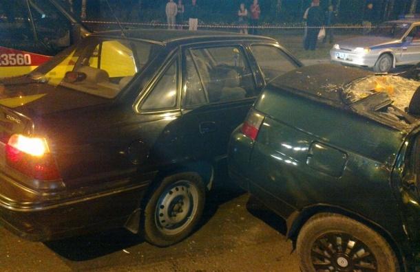 Мужчина пострадал в ДТП на Васильевском острове