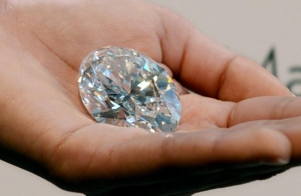 Sotheby's выставит на торги самый крупный бриллиант в мире