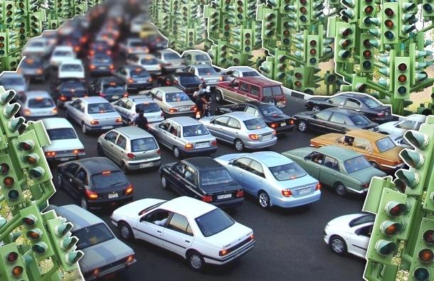 Светофоры горят невпопад — поэтому и пробки