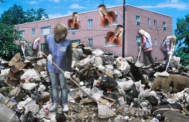 В Петербурге соберут гору мусора высотой в три телебашни
