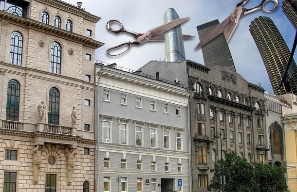 Госдума запретит строить небоскребы с «отклонениями»