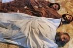 На CNN показали кадры с жертвами химической атаки в Сирии