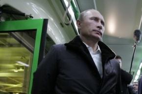 Путину выдадут проездной, чтобы ездить по Петербургу