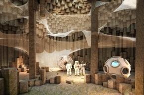 Архитекторы предлагают послать на Марс роботов для строительства пещер